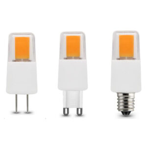 Dimmable COB LED G4/G9/E12/E14/E17